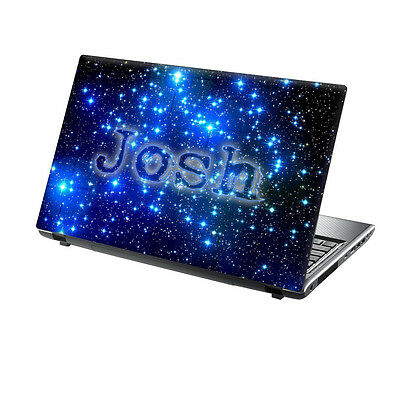TaylorHe Personalized Laptop Decal Vinyl Skin Sticker With YOUR NAME P159