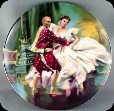 William Chambers Shall We Dance Collector Plate