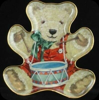 Sarah Bengry Little Drummer Bear Collector Plate