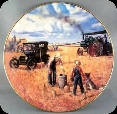 Emmett Kaye Bountiful Harvest - Farming the Heartland Collector Plate