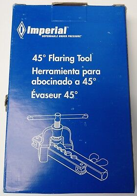 Imperial 195-FC Flaring Tool 45 Degree flare 3/16 to 5/8 USA
