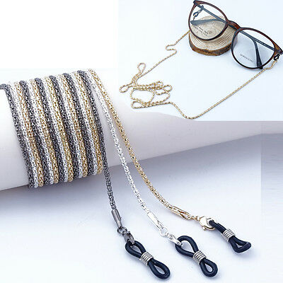 Reading Glasses Spectacles Sunglasses Glasses Holder Neck Cord Metal Strap Chain