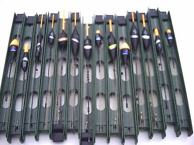 14 x Mixed Commercial Fishery Pole Rigs. ReadyTo Use, For Carp & Silverfish.