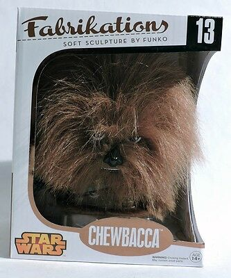 ESS0017. STAR WARS: CHEWBACCA #13 Fabrikations Soft Sculpture by Funko (2014) ~