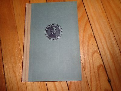 Abraham Lincoln Association Papers from 1934 Book
