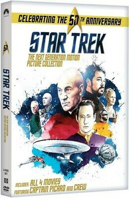 Star Trek - The Next Generation: Motion Picture Collection [New DVD] Boxed Set