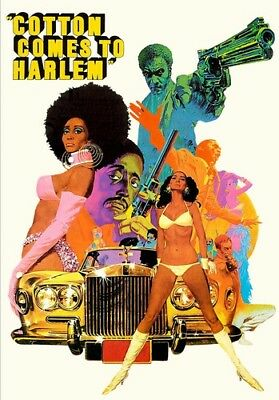 Cotton Comes to Harlem [New DVD] Subtitled