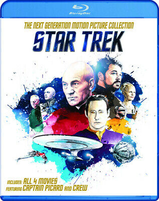 Star Trek: The Next Generation Motion Picture Collection [New Blu-ray] Boxed S