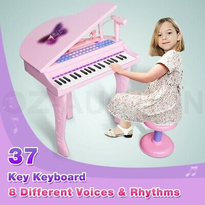 Electronic Organ Piano Keyboard Musical Play Mircophone Recording Instrument Toy