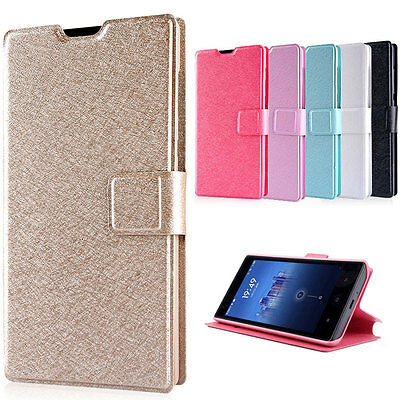 NEW Luxury Slim Flip PU Leather Wallet Stand Case Cover For Xiaomi Redmi Phones