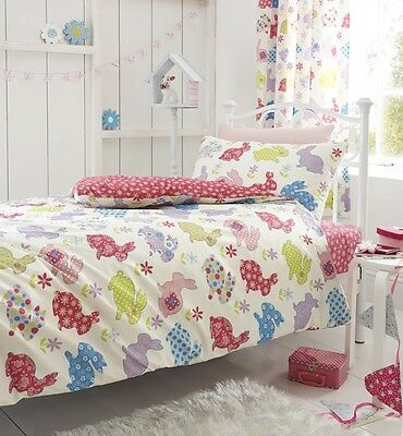 Catherine Lansfield Bunnies Fitted Sheets, Single Double