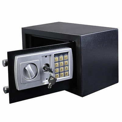 8.5L Digital Steel Safe Electronic Security Home Office Money Cash Safety Box Le