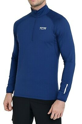 Men's Long Sleeve Running Top Jacket or Jersey - QuickDry Long Sleeve Half Zip
