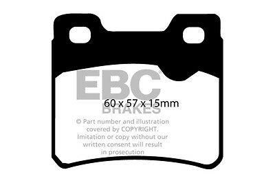 OPEL Calibra EBC Redstuff Front and Rear Brake Pads 2.0 Turbo 92-97