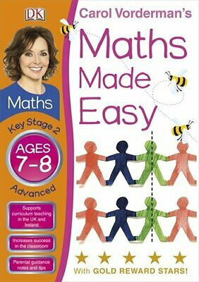 Maths Made Easy Ages 7-8 Key Stage 2 Advanced (... by Vorderman, Carol Paperback