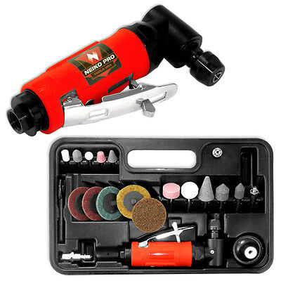Neiko Pro 22pc Air Angle Die Grinder Kit