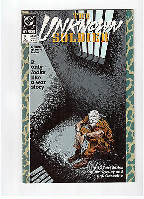 Dc Comics, The Unknown Soldier # 5, April 1989 Vf ++ !!