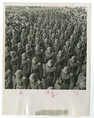 """German History - """"People's Army Day"""" - Leipzig - Vintage Photograph"""