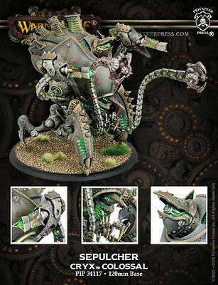 Warmachine Cryx Kraken / Sepulcher Colossal PIP34117 -- Used -- Out of Box