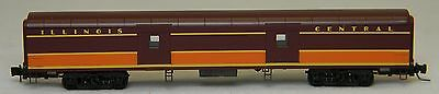 NIB Z MTL #55300020 70' Lightweight Smoothside Baggage Car Illinois Central