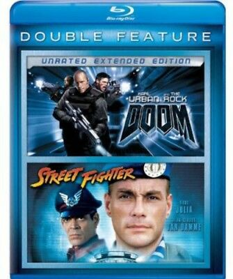 Doom / Street Fighter [New Blu-ray] 2 Pack, Snap Case