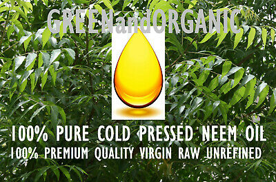 16 oz Premium NEEM OIL Unrefined ORGANIC Carrier Cold Press VIRGIN Pure Raw 1 Lb