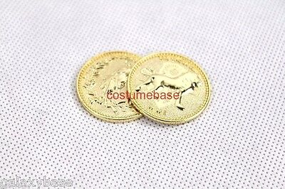 one piece JOHN WICK COIN Prop assassin replica krugerrand