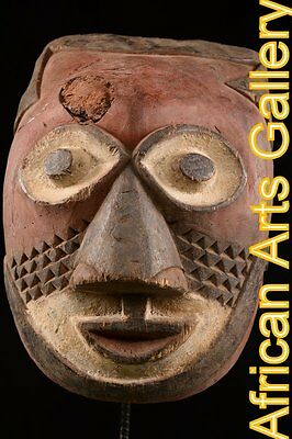 51882 Rare Mask of the Galoa , Gabon, Africa