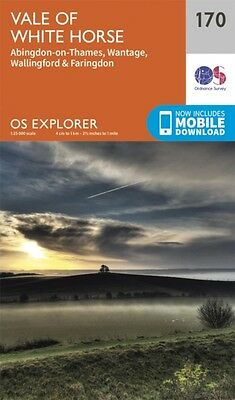 OS Explorer Map (170) Abingdon, Wantage and Vale of White Horse (. 9780319243633
