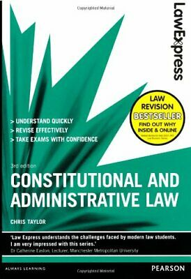 Law Express: Constitutional and Administrative Law (Revision... by Taylor, Chris