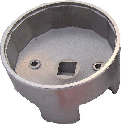"""Tool Hub 1018 Oil Filter Wrench 14 Point 74mm 1/2""""D"""