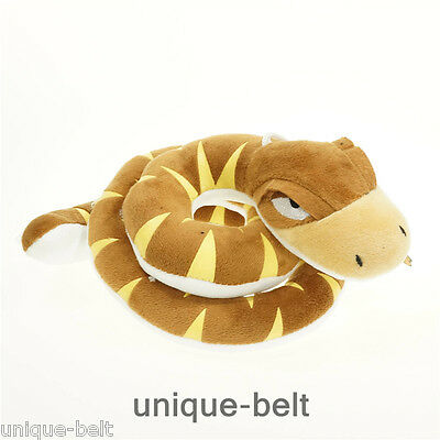 New The Jungle Book Movie Kaa figure Stuffed Animal snake Plush Toy doll Gift