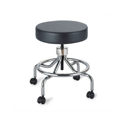 Safco Products Company Height Adjustable Lab Stool with 2 Swivel Casters Low
