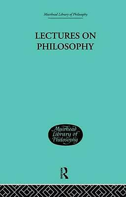 Lectures on Philosophy by George Edward Moore (English) Paperback Book Free Ship