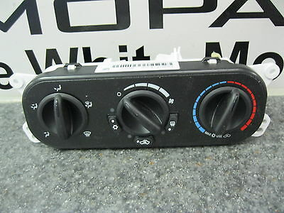 07-10 Jeep Wrangler A/C Heater Air Conditioning Switch Control Module Mopar OEM