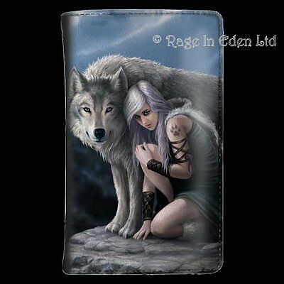 *PROTECTOR* Fantasy Wolf Art Purse By Anne Stokes