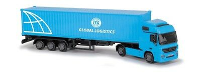 Dickie 203746005 - Cargo Truck / Container-Sattelzug - Itg Global Logistics -Neu