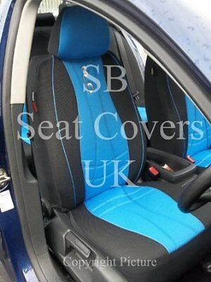 To  Fit A Nissan Leaf, Car Seat Covers, Max Sports Blue Full Set
