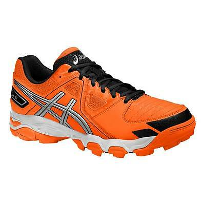 Asics Gel-Blackheath 5 GS Junior Hockey Shoes Hot Orange/Lightning/Black 2015