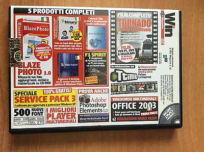 DVD WIN MAGAZINE 82  per PC  film TORNADO