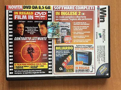 DVD WIN MAGAZINE 89  per PC  film CONTRATTO CON LA MORTE