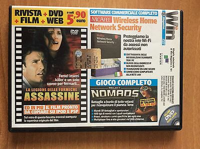 DVD WIN MAGAZINE 101  per PC  film LA LEGIONE DELLE FORMICHE ASSASSINE