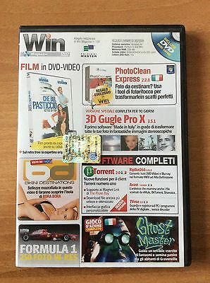 DVD WIN MAGAZINE 138  per PC  film CHE BEL PASTICCIO