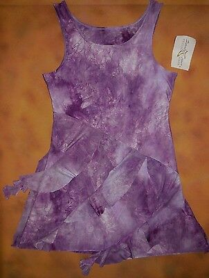 NWT Sisterly Grace Praise Liturgical Dance Tie Dye Lilac Overlay Adult S 74071
