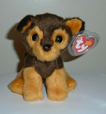 Ty Beanie Baby ~ TUCKER the Dog ~ MINT with MINT TAGS ~ 2015 NEW ~ IN HAND