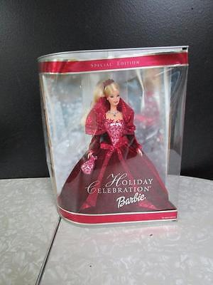 Holiday Special Edition Celebration 2002 Barbie Doll Mint Never Opened