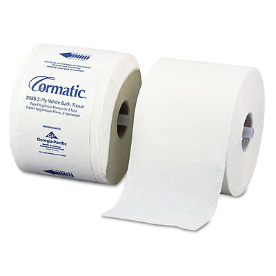 """Embossed Bath Tissue, 2-Ply, White, 1000 Sheets/Roll, 36 Rolls/Carton"""