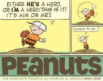 The Complete Peanuts 1959-1960 by Charles M. Schulz (English) Paperback Book Fre