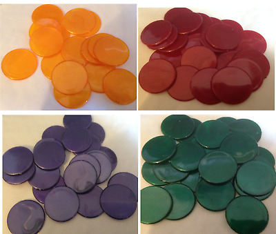 31mm Pearl Counters Token Poker Chip Game Teaching Numeracy 9 colors free ship
