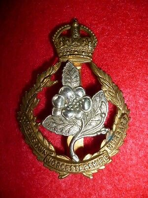 The Worcestershire Hussars KC Cap Badge, KK 1458